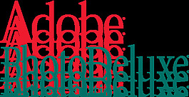 Adobe photodeluxe标志